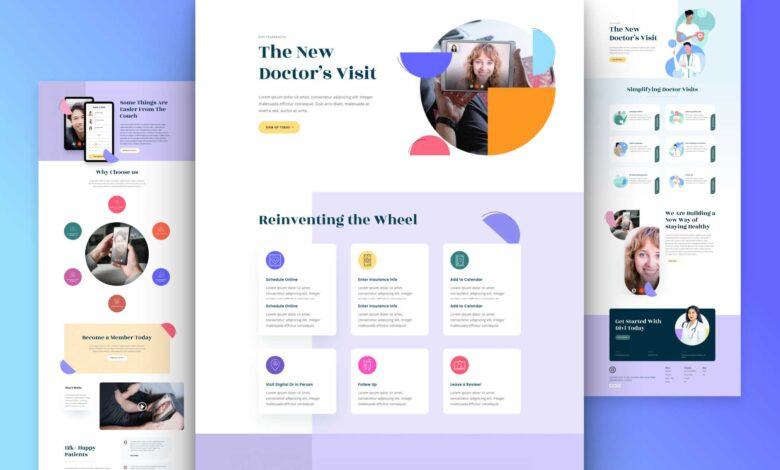 Photo of Get a FREE Telehealth Layout Pack for Divi