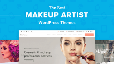 Photo of The 9 Best WordPress Themes for Makeup Artists to Build a Customer Base