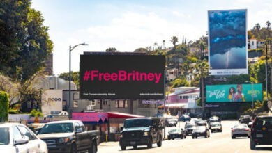 Photo of Crowdfunded OOH Campaign Draws Attention to the #FreeBritney Movement