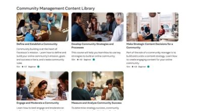 Photo of Facebook Expands Access to its Community Manager Certification Courses