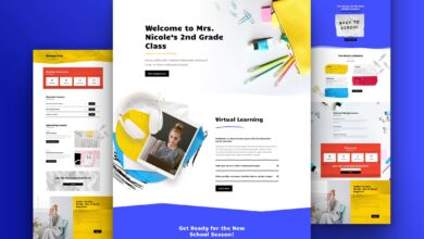 Photo of Get a FREE Classroom Layout Pack for Divi