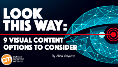 Photo of Look This Way: 9 Visual Content Options to Consider