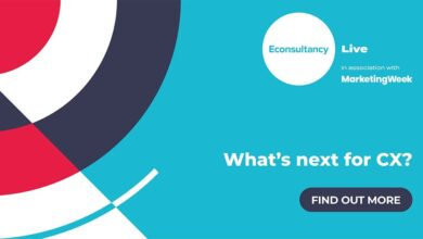 """Photo of Join us for Econsultancy Live as we ask """"What's next for CX?"""""""