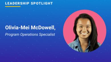 Photo of Leadership Spotlight: Olivia-Mei McDowell, Program Operations Specialist