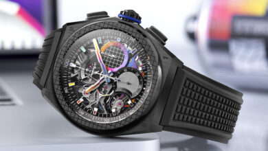 Photo of Zenith Debuts Limited-Edition Defy 21 Felipe Pantone Watch