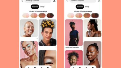 Photo of Pinterest Expands Skin Tone Search Qualifiers to More Regions, Adds Skin Tone to AR 'Try On' Tools