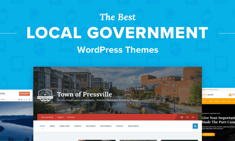Photo of The 8 Best Government WordPress Themes for Townships & Municipalities