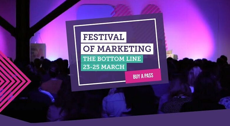 Photo of Mark Ritson, Bob Hoffman and Helen Edwards to speak at new Festival of Marketing event
