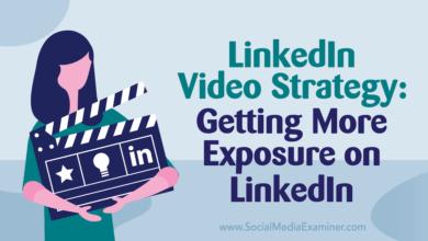 Photo of LinkedIn Video Strategy: Getting More Exposure on LinkedIn