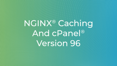 Photo of NGINX® Caching And cPanel® Version 96