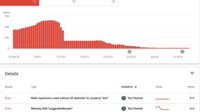 Photo of Google adds practice problems and math solver structured data and Search Console reports