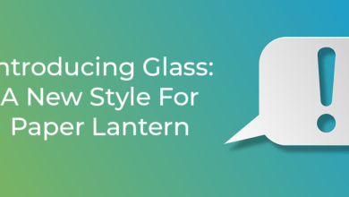 Photo of Introducing Glass: A New Style For Paper Lantern