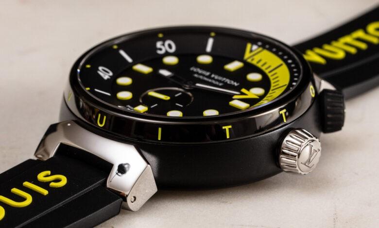 Photo of Hands-On: Louis Vuitton Tambour Street Diver Watch