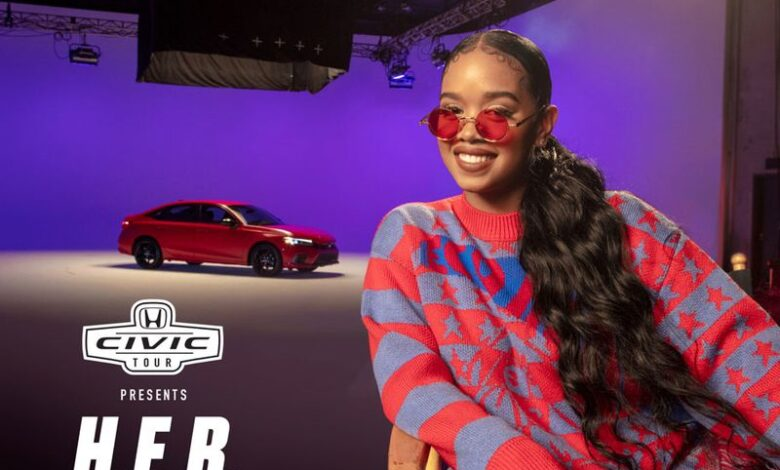 Photo of Honda taps H.E.R. for the return of its Civic Tour concert series, but must overcome livestream fatigue