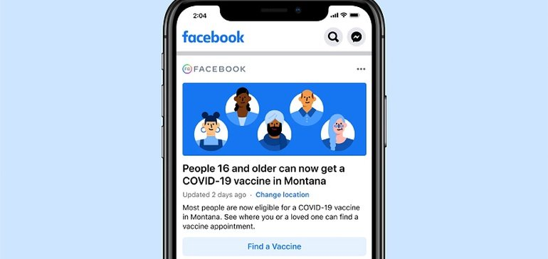 Photo of Facebook Launches New Vaccine Awareness Prompts in News Feeds to Help Maximize Take-Up