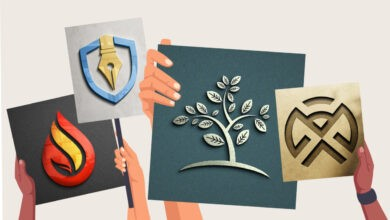 Photo of Make your logo mockups look their best with these templates