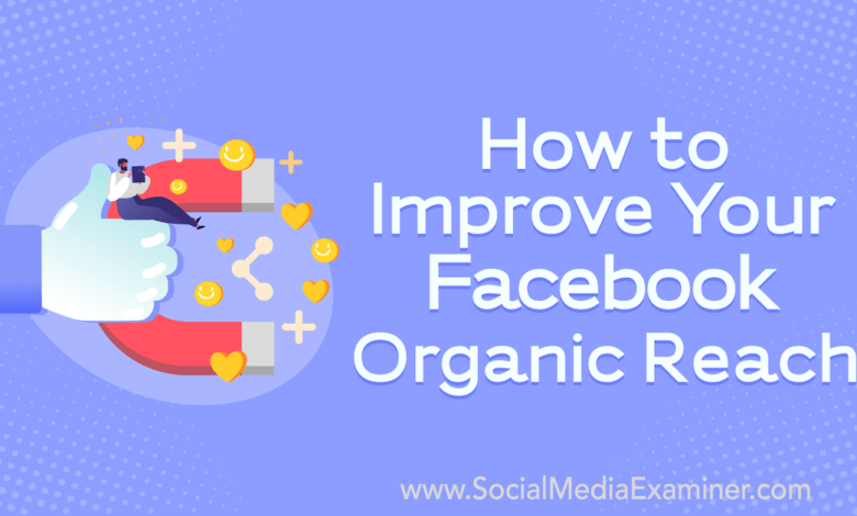 Photo of How to Improve Your Facebook Organic Reach