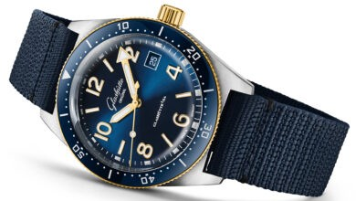Photo of Glashütte Original Debuts SeaQ Watch In Two-Tone Finish