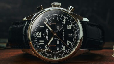 Photo of Delma Announces Limited-Edition Heritage Chronograph Watch Series