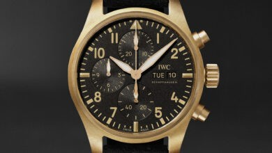 """Photo of IWC Unveils """"10 Years Of MR PORTER"""" Limited Edition Pilot's Chronograph Watch"""