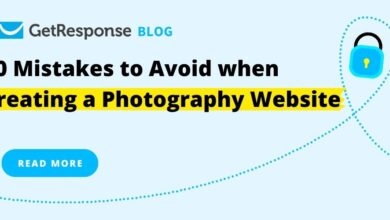Photo of 10 Mistakes to Avoid when Creating a Photography Website