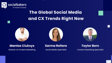 Photo of Webinar: The Global Social Media and CX Trends Right Now