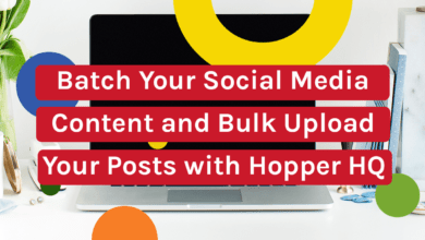 Photo of Batch Your Social Media Content and Bulk Upload Your Posts with Hopper HQ.