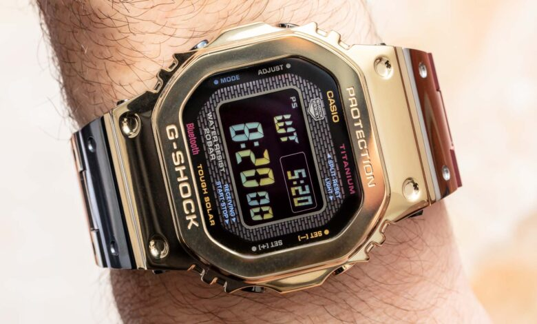Photo of Casio Debuts Limited Edition G-Shock GMWB5000TR-9 Watch