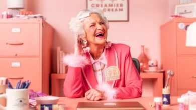 Photo of Instagram's Hippest Grandma Is the Face of Tillamook Ice Cream in This Colorful New Campaign