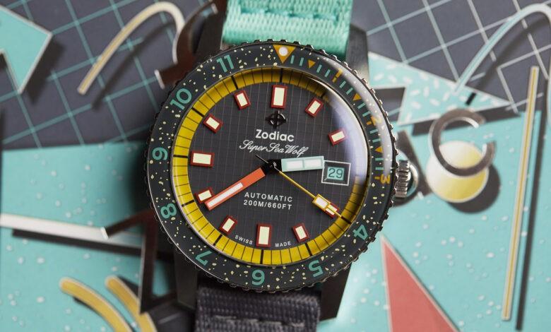 Photo of Worn & Wound X Zodiac Debut Super Sea Wolf Limited-Edition Watch