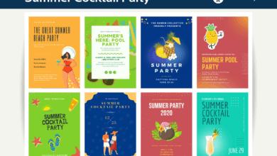 Photo of 10+ Summer Party Invitation Canva Templates