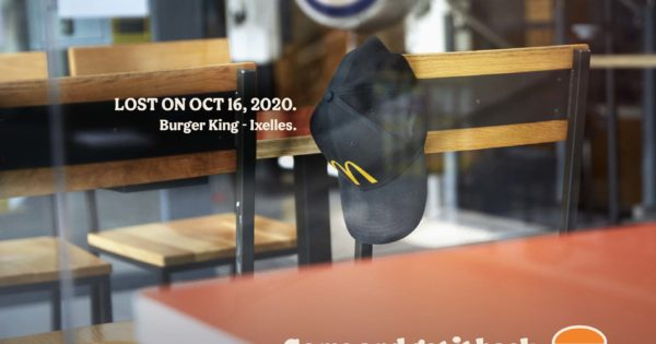 Photo of Burger King Invites Belgians to Reclaim Items Left Behind Before the Covid Lockdown
