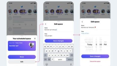 Photo of Twitter Continues Work on its New Spaces Tab, Adds Editing Options for Scheduled Spaces