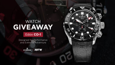 Photo of WATCH GIVEAWAY: Edox CO-1