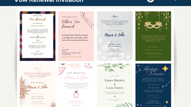 Photo of 10+ Vow Renewal Invitation Canva Templates