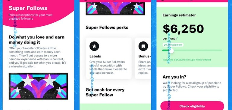 Photo of Twitter's Coming 'Super Follow' Subscription Option Will Require 10k Followers, Will Begin Testing Soon