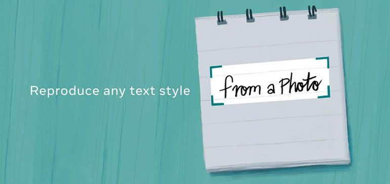Photo of Facebook's Developing a New Way to Re-Create Text Styles Based on an Example Image
