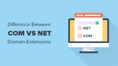 Photo of Com vs Net – What's the Difference Between Domain Extensions