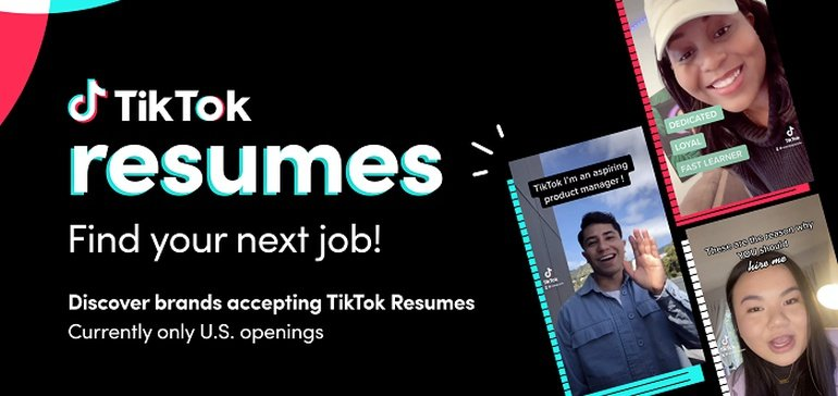 Photo of TikTok Launches 'Resumes' to Help Connect Candidates with Job Opportunities