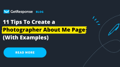 Photo of 11 Tips to Create a Photographer About Me Page (With Examples)