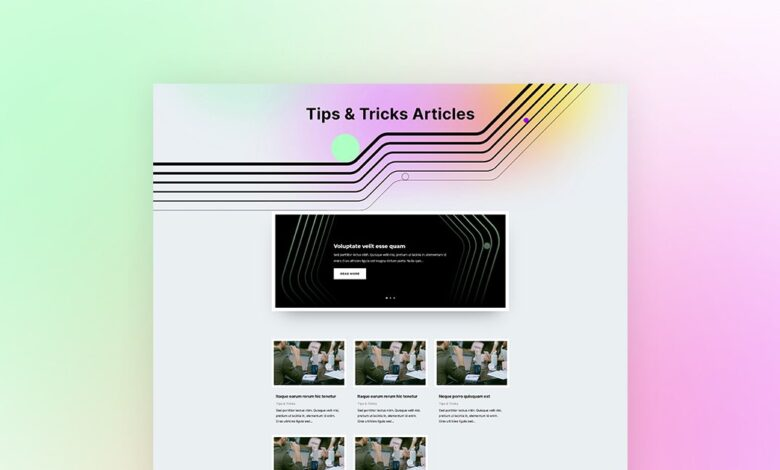 Photo of Download a FREE Category Page Template for Divi's Social Media Consultant Layout Pack