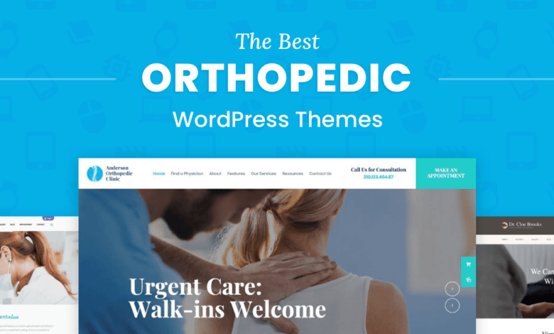 Photo of The 7 Best Orthopedic WordPress Themes for Doctors, Clinics, and Wellness Businesses