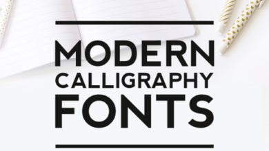 Photo of 8 Trendy Modern Calligraphy Fonts You Must Know