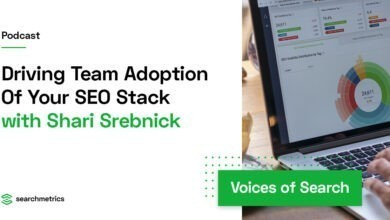 Photo of Driving Team Adoption Of Your SEO Stack – Shari Srebnick // Searchmetrics