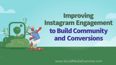 Photo of Improving Instagram Engagement to Build Community and Conversions