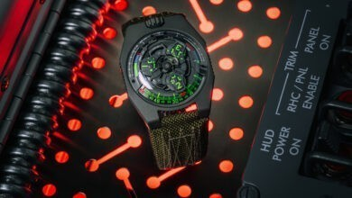 Photo of Urwerk And Collective Horology Release Limited-Edition UR-100V P.02 Watch