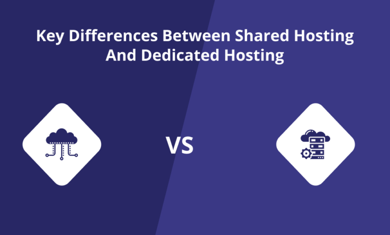 Photo of Key Differences Between Shared Hosting and Dedicated Hosting