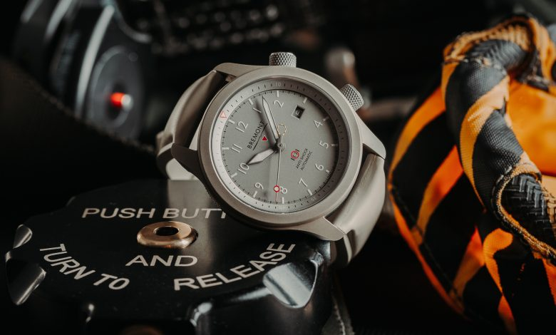 Photo of Bremont Introduces Stealthy New MBII Savanna Pilot Watch In Titanium