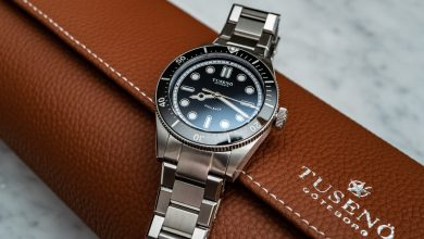 Photo of Hands-On: Tusenö Shellback Dive Watch