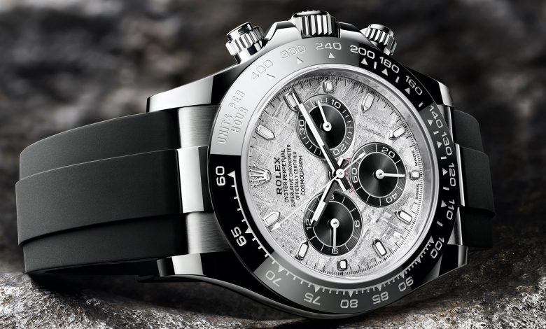 Photo of Rolex Adds Meteorite Dials To Gold-Cased Daytona Watches